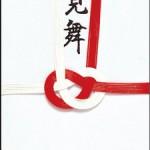 金封(大阪折) 赤白七本御見舞