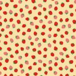 包装紙 レトロイチゴ