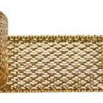 リボン ソフトメタル 金色
