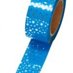 メッキテープ 星小 青色 №46-5392