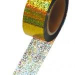 メッキテープ ホログラム 金色 №46-5396