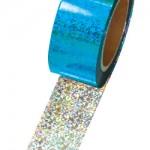 メッキテープ ホログラム 青色 №46-5399