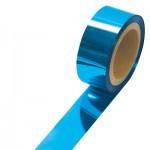 【20M巻】メッキテープ(厚み38ミクロン) 青色 №46-5455