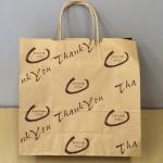 【激安超特価】手提げ紙袋 サンキュー柄№2