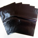 チョコグラシン紙 シリコン加工