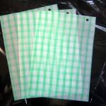 薄葉紙 グリーンチェック