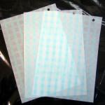 薄葉紙 ブルーチェック