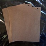 薄葉紙 ブラウン
